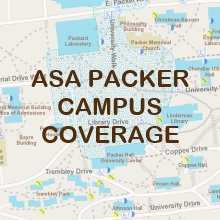 Asa Packer Campus WiFi Coverage Map